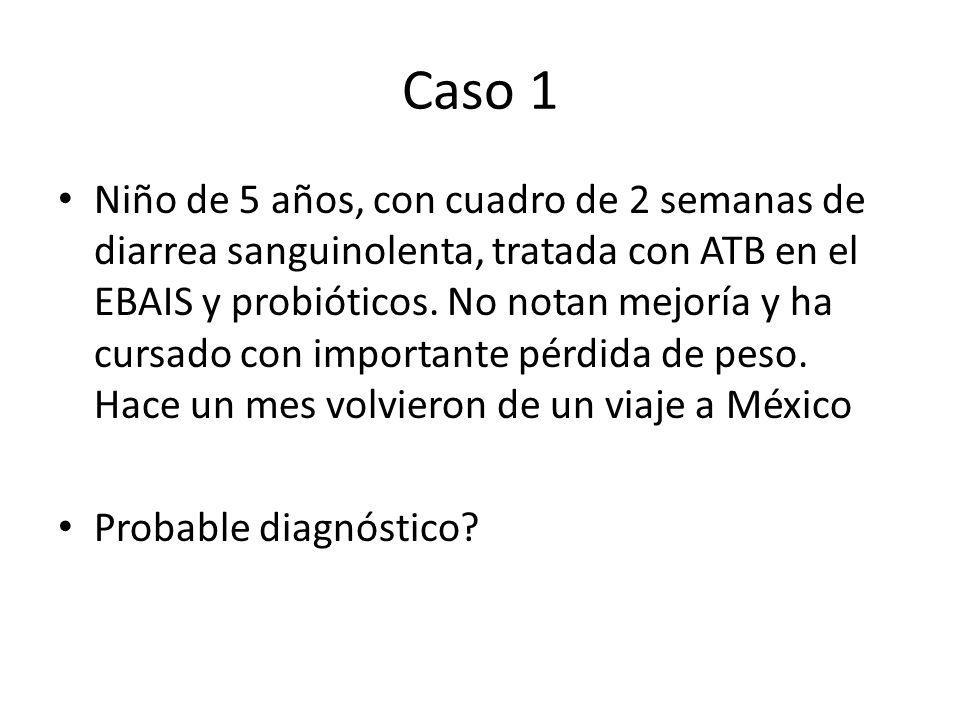 Uncinariasis Ancylostoma duodenale / Necator americanus Helminto (segundo más frecuente) FI: larva F3 Anemia por deficiencia de hierro, enteritis eosinofílica, síntomas digestivos Dx: examen directo, concentraciones, recuento de huevecillos, Kato Tx: Mebendazol, Albendazol, Pamoato de Pirantel
