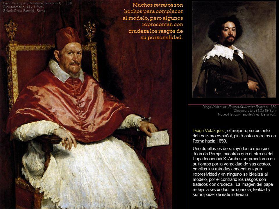 Diego Velázquez, el mejor representante del realismo español, pintó estos retratos en Roma hacia 1650. Uno de ellos es de su ayudante morisco Juan de