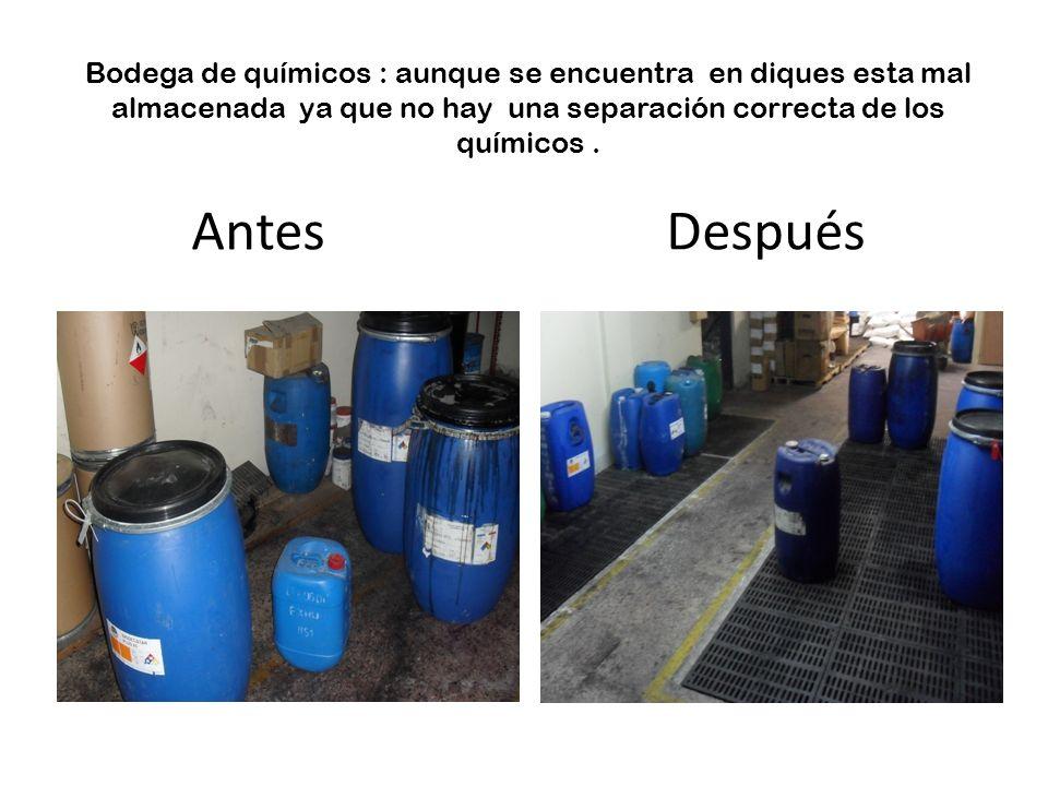 ALMACENAMIENTO DE BASURAS: NO SE ENCUENTRAN EN CANECAS ADECUADAS.