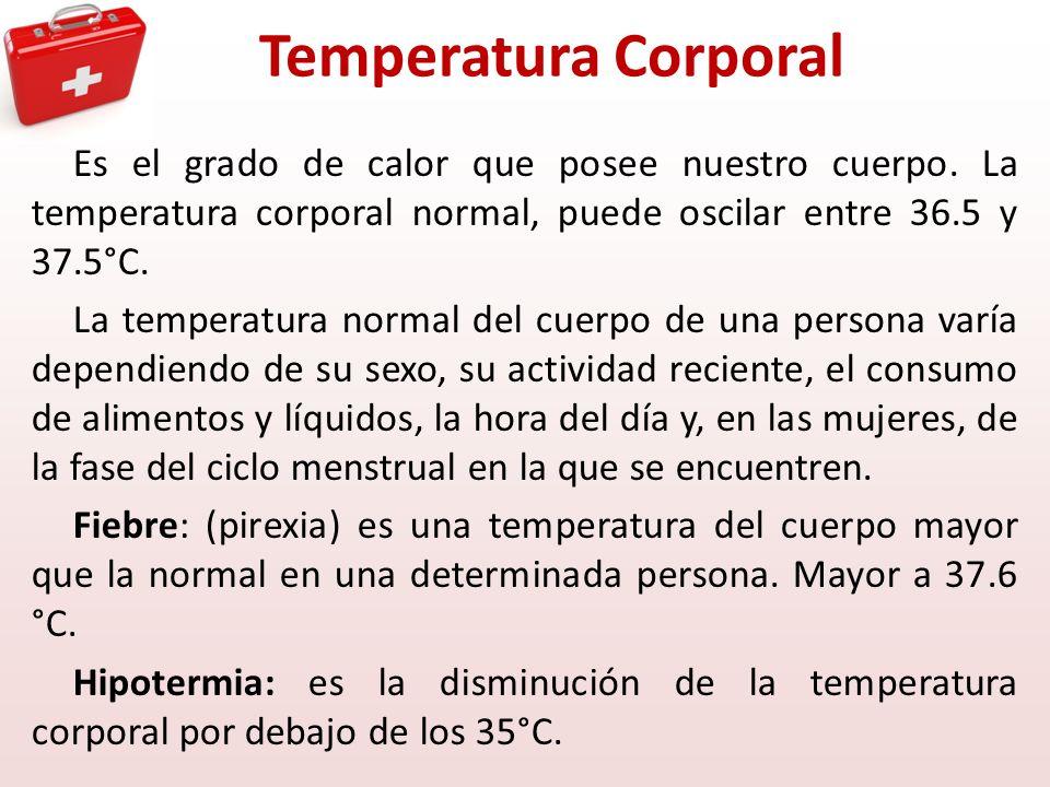temperatura normal cuerpo: