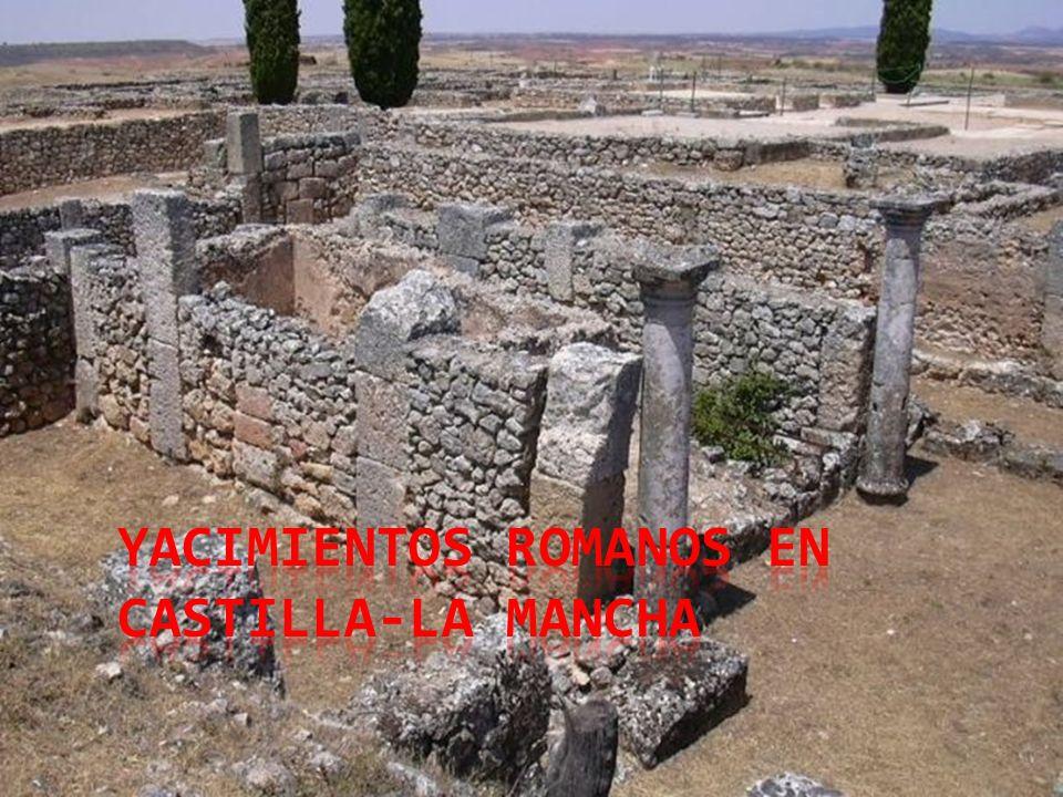 1 1 2 1: Yacimiento de Olihuellas 2: Yacimiento de Carranque 3: Yacimiento de Sancedo 4: Yacimiento de la Vega Baja 5: Yacimiento de Malamoneda 6: Yacimiento de Vizcaíno y Mausoleo de Layos 7: Yacimiento de Orgaz 8: Yacimiento de Puebla Nueva