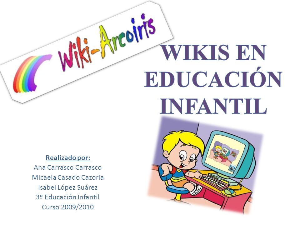 Realizado por: Ana Carrasco Carrasco Micaela Casado Cazorla Isabel López Suárez 3º Educación Infantil Curso 2009/2010