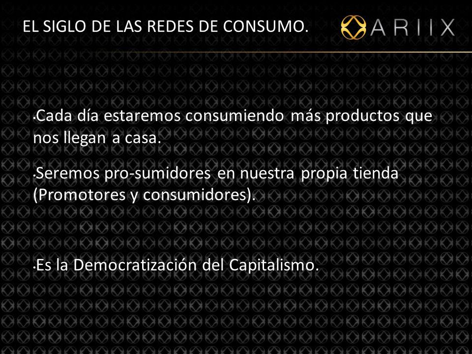 http://www.ariixlatino.net12 EL SIGLO DE LAS REDES DE CONSUMO.