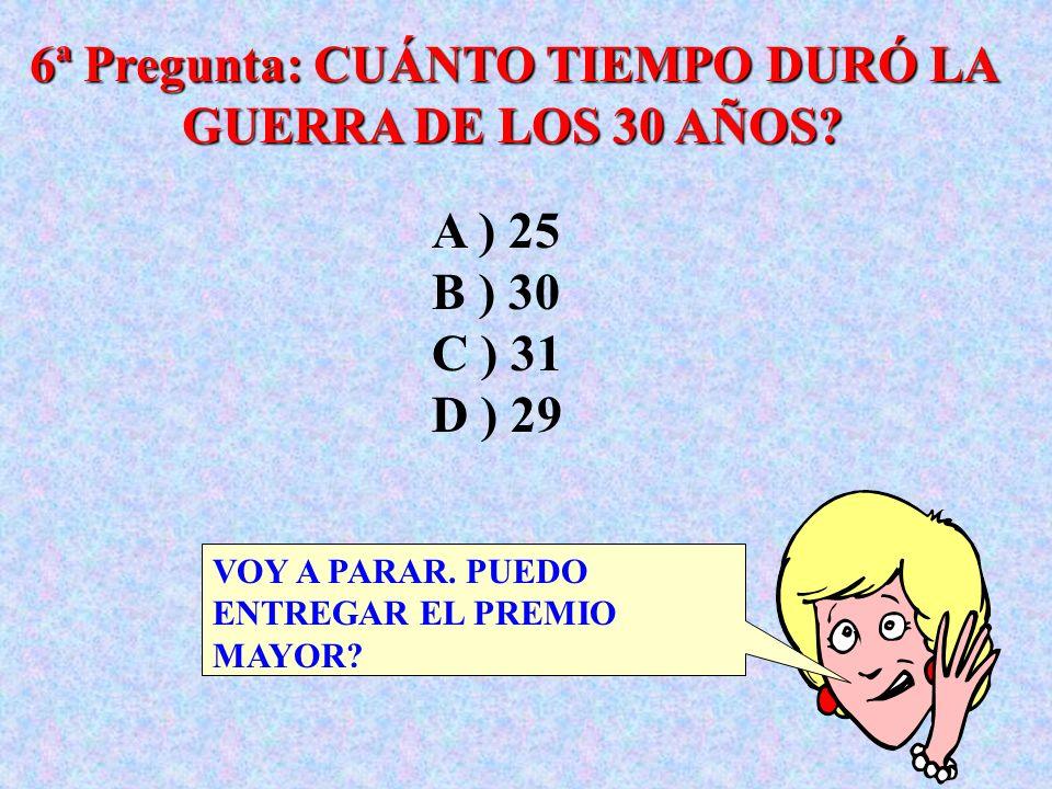 5ª Pregunta: LAS ISLAS CANARIAS, EN EL OCÉANO ATLÁNTICO, TIENEN SU NOMBRE SACADO DE CUÁL ANIMAL? VOY A PEDIR UNA LLAMADA A ) CANARIO B ) BÚHO C ) PERR