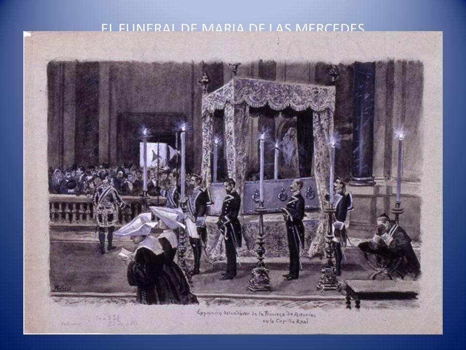 EL FUNERAL DE MARIA DE LAS MERCEDES