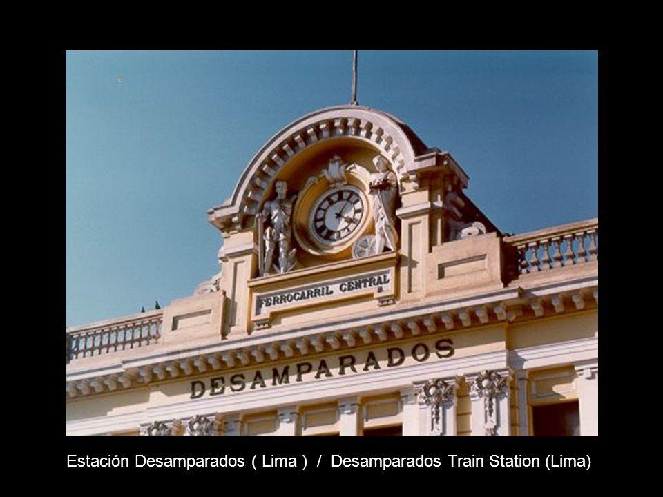 Estación Km Altura Estación Km Altura Recorrido del ferrocarril / Trail of the train (Ramal minero)