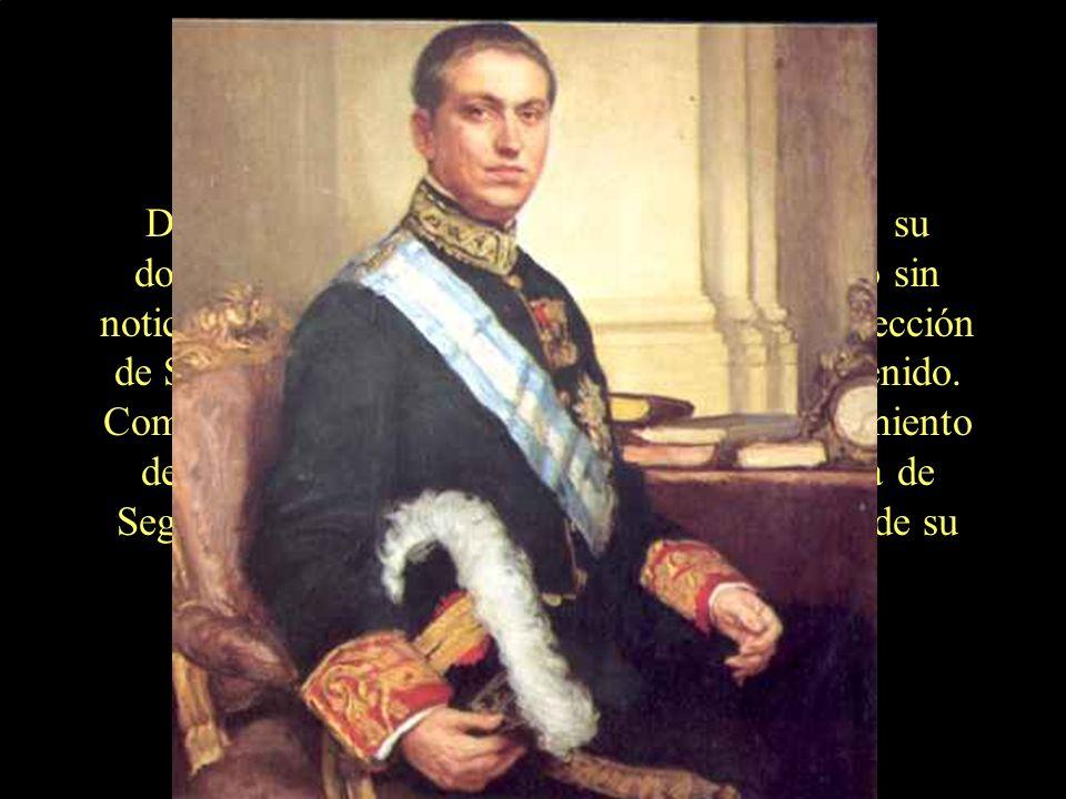Las frases despertaron al señor Calvo Sotelo y a su familia.