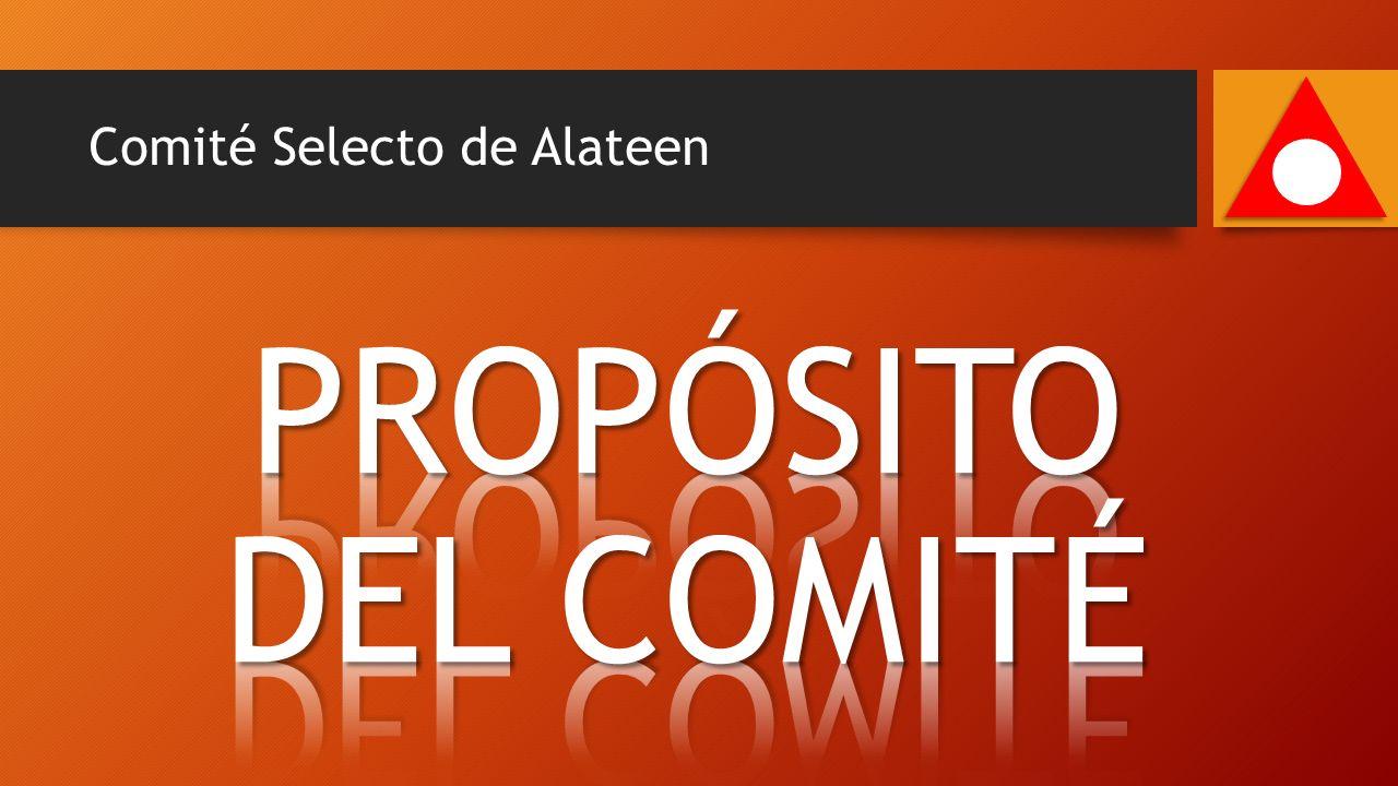 Comité Selecto de Alateen 40 Min.