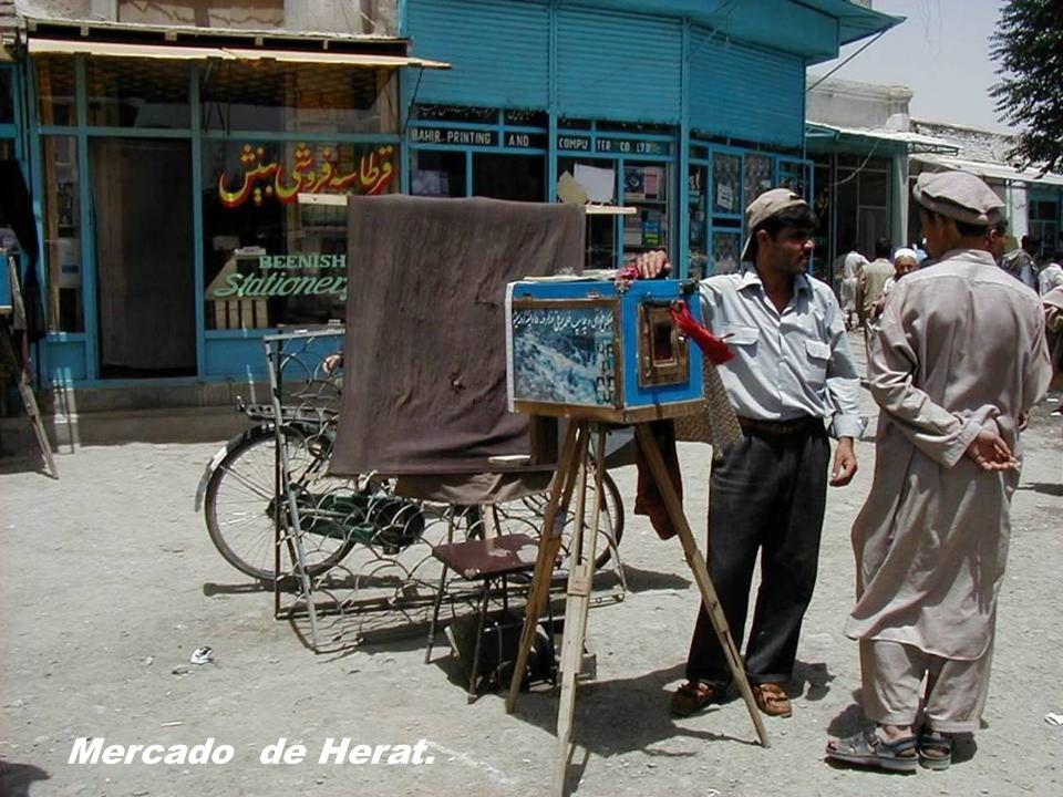 Kabul.- La carnicería de la esquina.