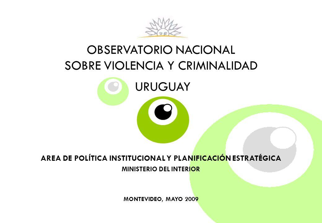 VIOLENCIA Y CRIMINALIDAD ENERO-MARZO 2009