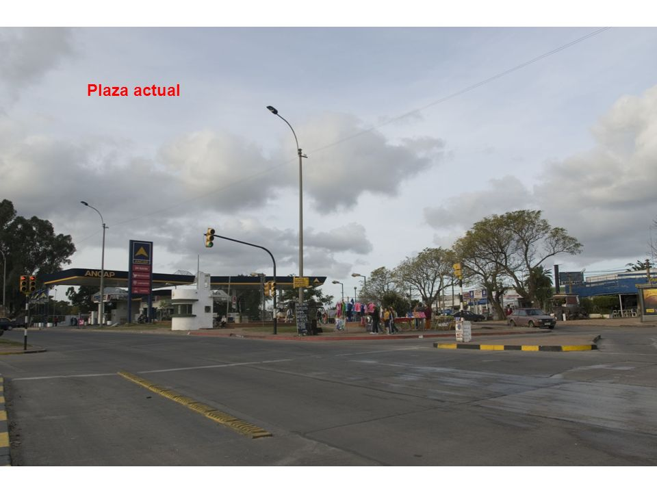 Plaza actual