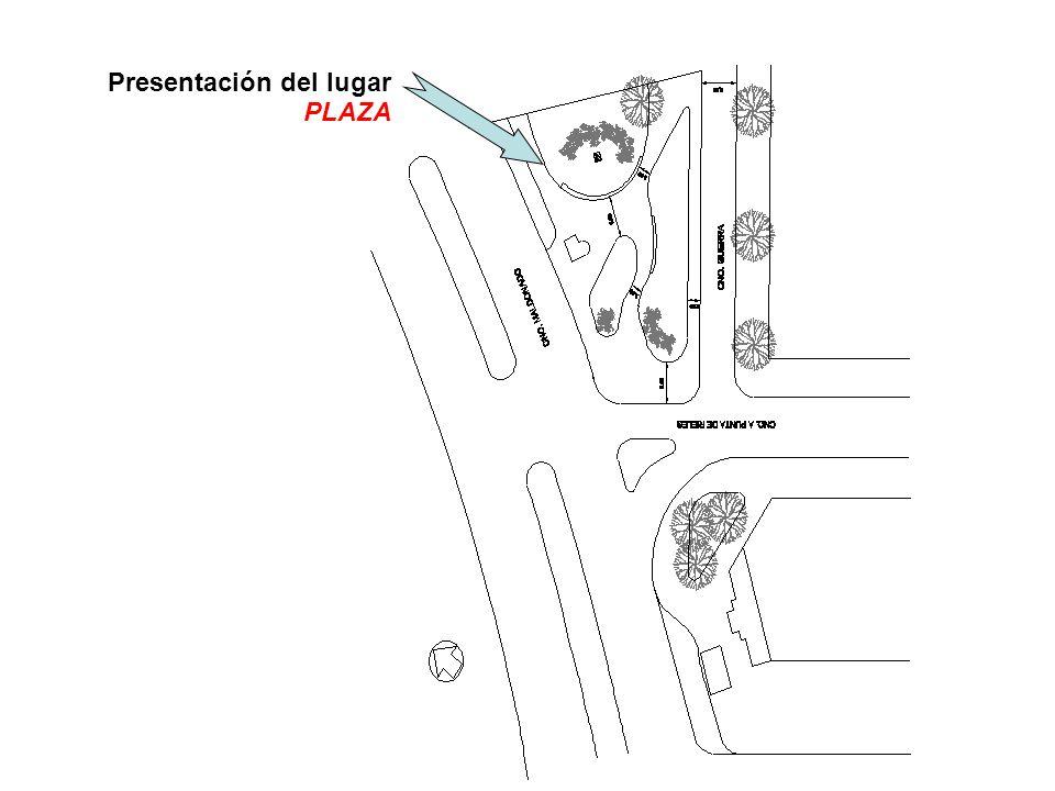 Presentación del lugar PLAZA