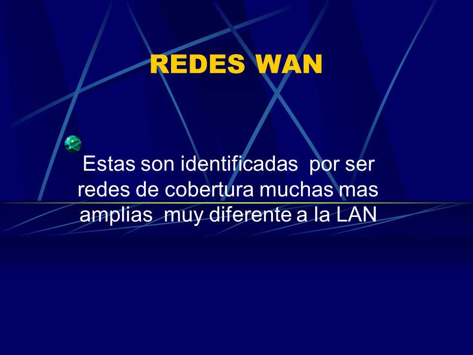 REDES MAN Son redes que se encuentran en una misma localizada pero en diferentes distritos etc.