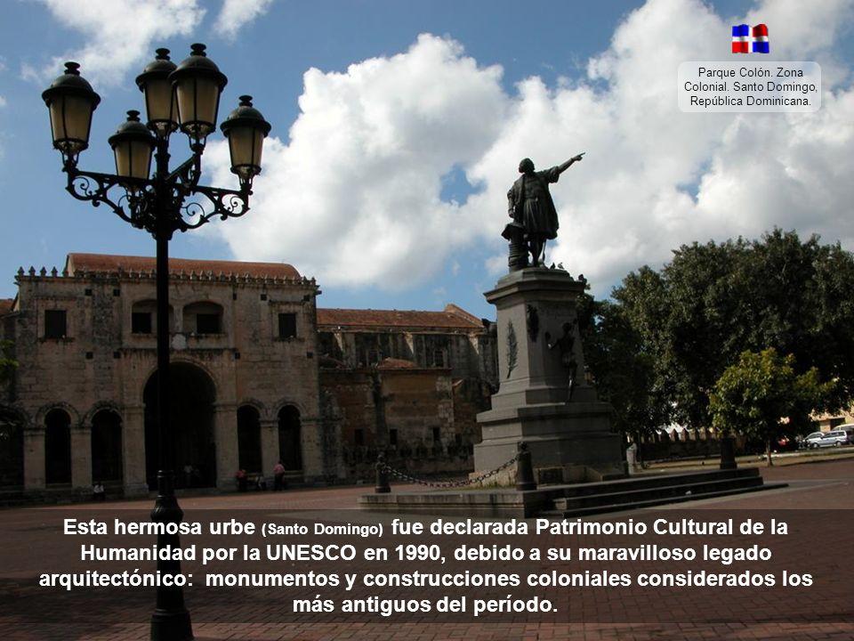 La capital de República Dominicana es Santo Domingo, la ciudad más vieja del Nuevo Mundo, por ser la primera en fundarse, después de que Colón se enco