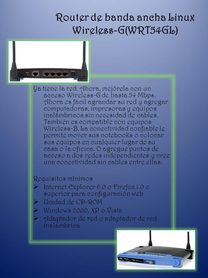 Extensor de rango Wireless-G (WRE54G) Expanda la cobertura de red inalámbrica o extienda la señal a zonas difíciles de alcanzar.