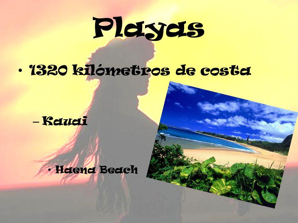Playas 1320 kilómetros de costa – Kauai Haena Beach