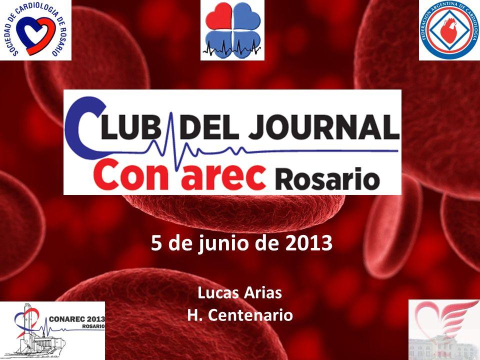 5 de junio de 2013 Lucas Arias H. Centenario
