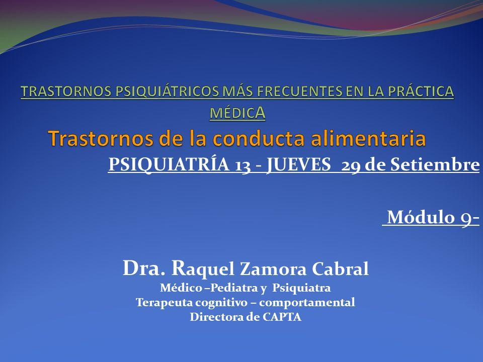 ANOREXIA Hipotensión arterial.T.