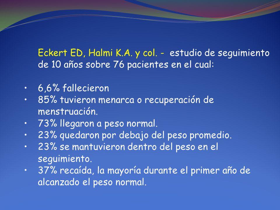 Eckert ED, Halmi K.A.y col.