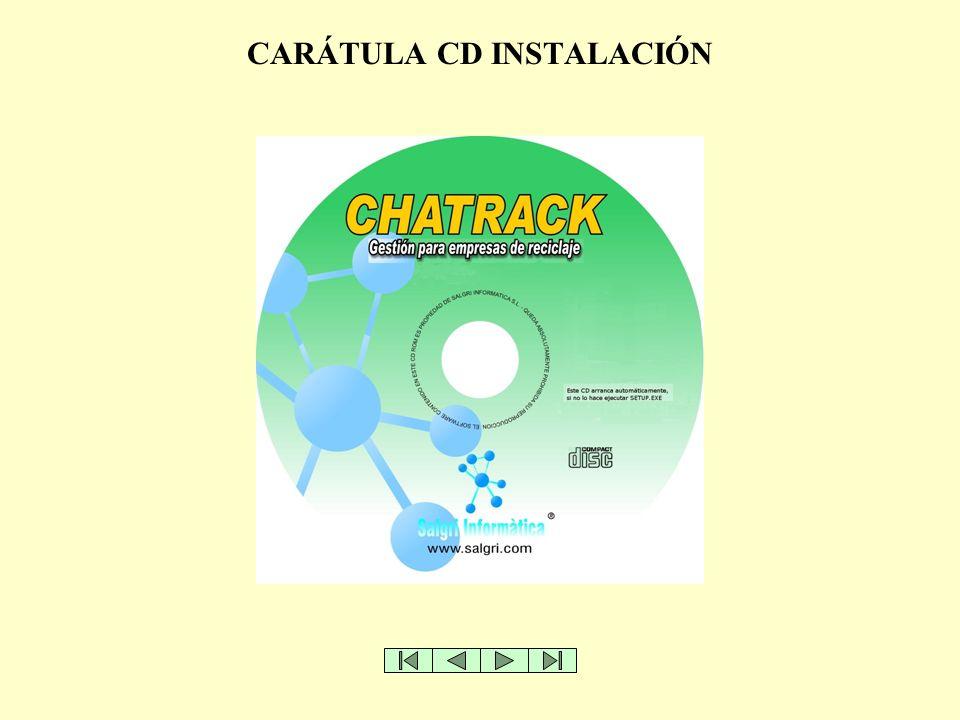 CARÁTULA CD INSTALACIÓN