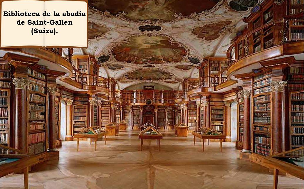 Las Bibliotecas, como todos sabemos, cumplen la función de conservar y custodiar los libros.