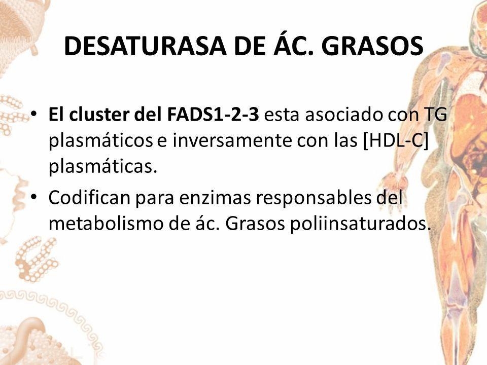 DESATURASA DE ÁC.