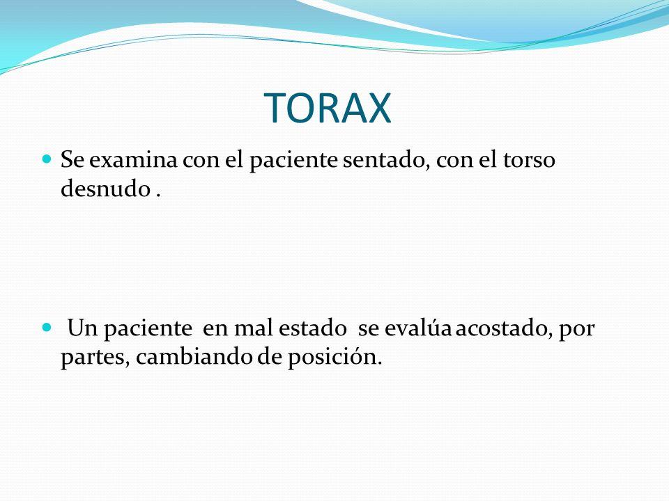 CUADRO CLINICO NEUMOTORAX INSPECCION (disnea ) PALPACION (disminución frémito vocal) PERCUSION (hipertimpanismo) AUSCULTACION (disminucion murmullo vesicular)