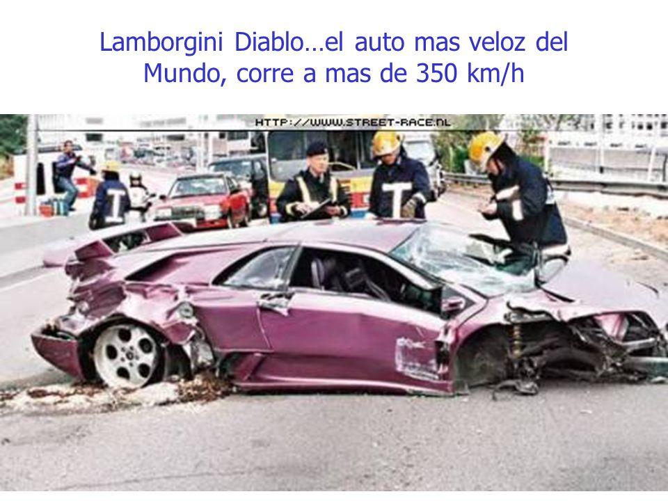 Lamborgini Diablo…el auto mas veloz del Mundo, corre a mas de 350 km/h