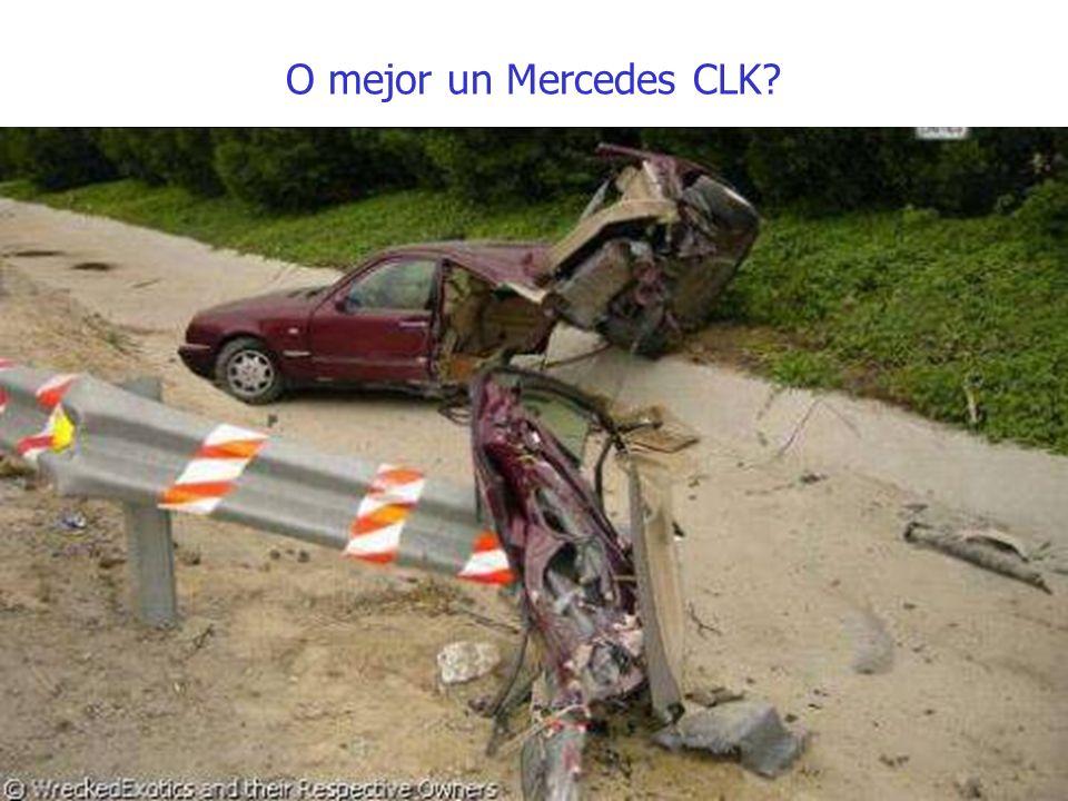 O mejor un Mercedes CLK?