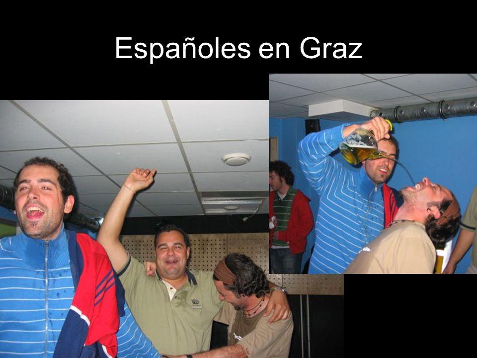 Españoles en Graz