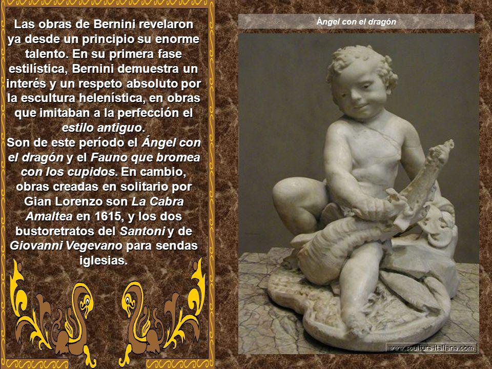 Gian Lorenzo Bernini nació en Napoles en 1598 y falleció en Roma en 1690. Fue escultor, arquitecto y pintor italiano, uno de los artistas más destacad
