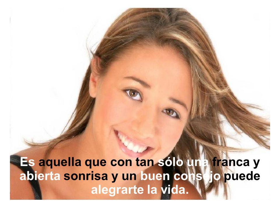 Una mujer hermosa no es la más joven ni la más flaca, ni la que tiene el cutis más terso o el cabello más llamativo.