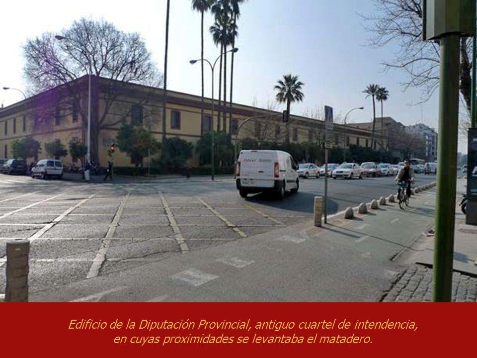 Calle Huelva, antigua calle de la Caza. Plaza de la Pescadería, antigua de la Costanilla