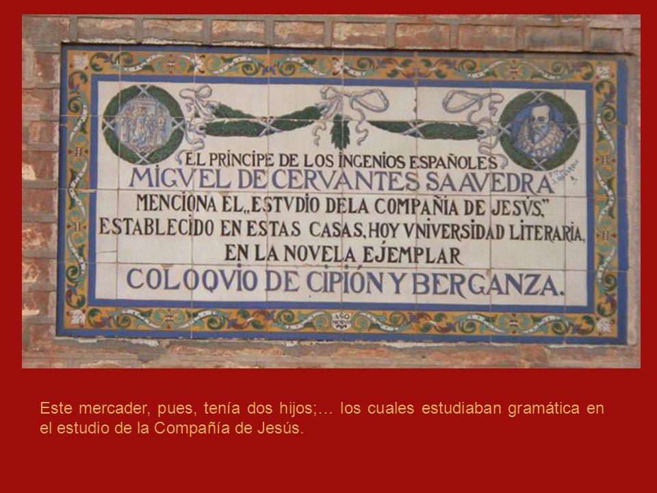 San Bernardo, antiguo arrabal extramuros.