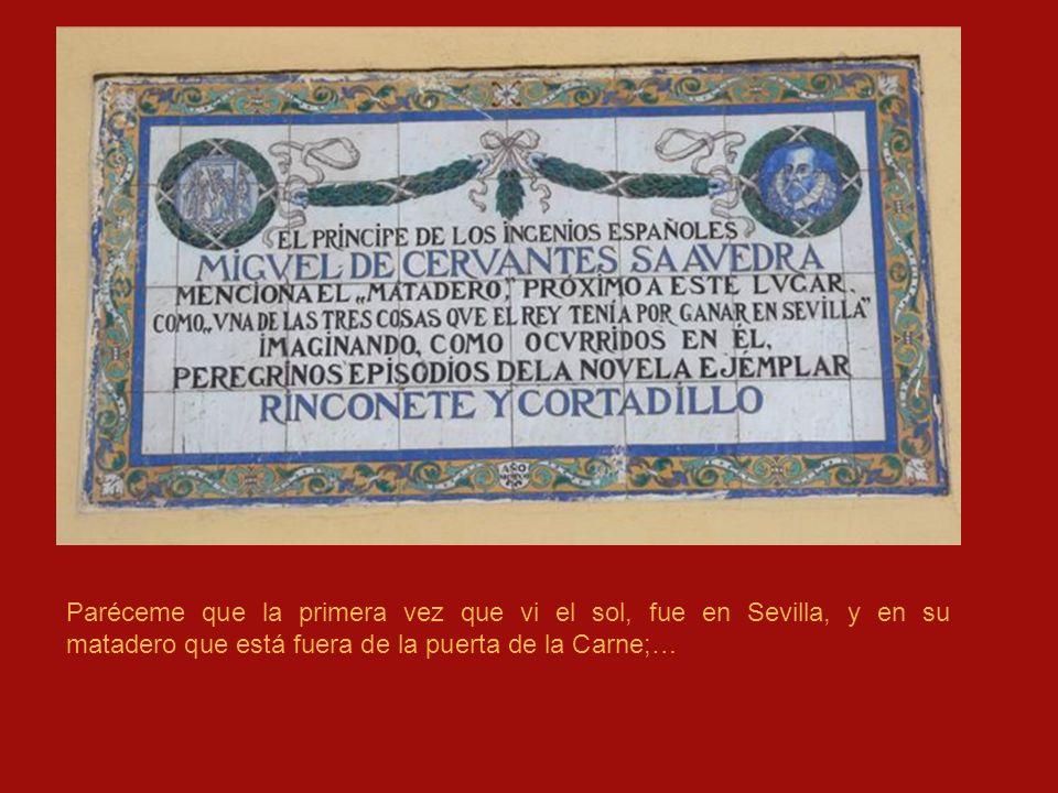 CAPÍTULO 2 Son muchas las citas referidas a Sevilla que contiene la obra de Cervantes.