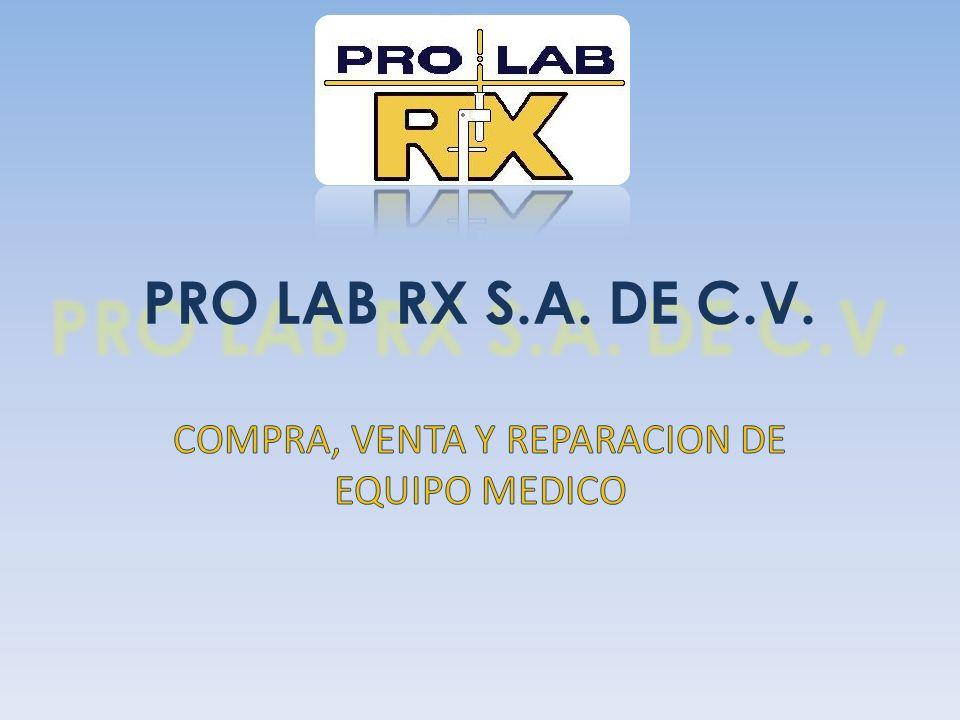 ¿QUIENES SOMOS.PRO LAB RX S.A. DE C.V.