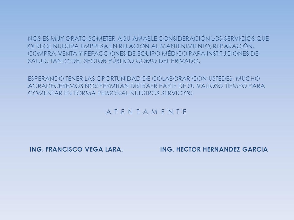 NOS ES MUY GRATO SOMETER A SU AMABLE CONSIDERACIÓN LOS SERVICIOS QUE OFRECE NUESTRA EMPRESA EN RELACIÓN AL MANTENIMIENTO, REPARACIÓN, COMPRA-VENTA Y R