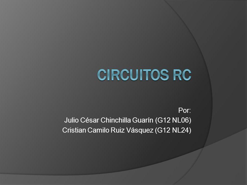 Por: Julio César Chinchilla Guarín (G12 NL06) Cristian Camilo Ruiz Vásquez (G12 NL24)