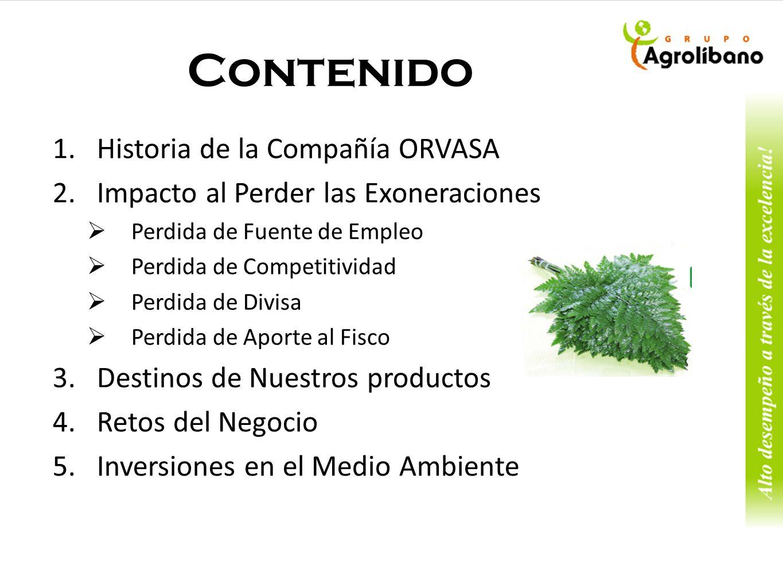 Ornamentales del Valle fue fundada en 1998; está localizado en San Marcos de Colon, Choluteca y se dedica a la producción de hojas de helechos en invernaderos de malla sombra.