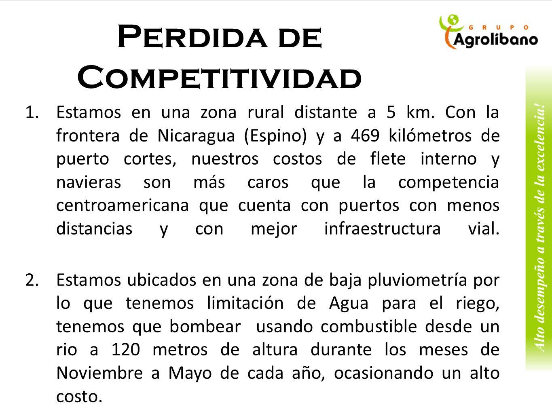 Marcas Competidoras de los mercados de Europa y Japón Esta es Nuestra Marca Marcas de la competencia de Costa Rica en Europa
