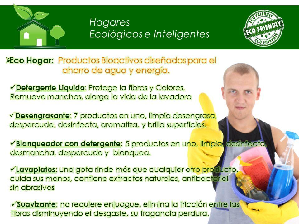 Hogares Ecológicos e Inteligentes