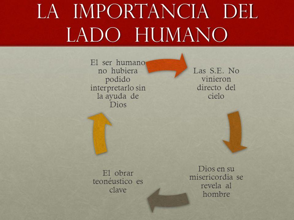 La importancia del lado humano Las S.E.
