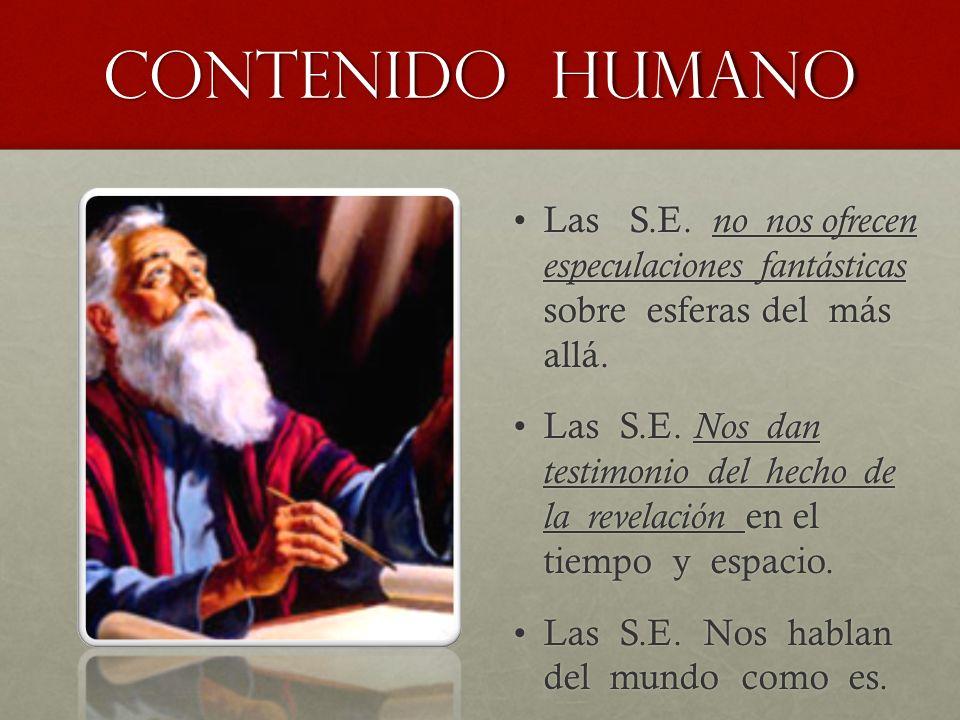 Contenido humano Las S.E.