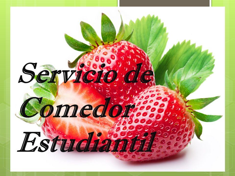 Servicio de Comedor Estudiantil