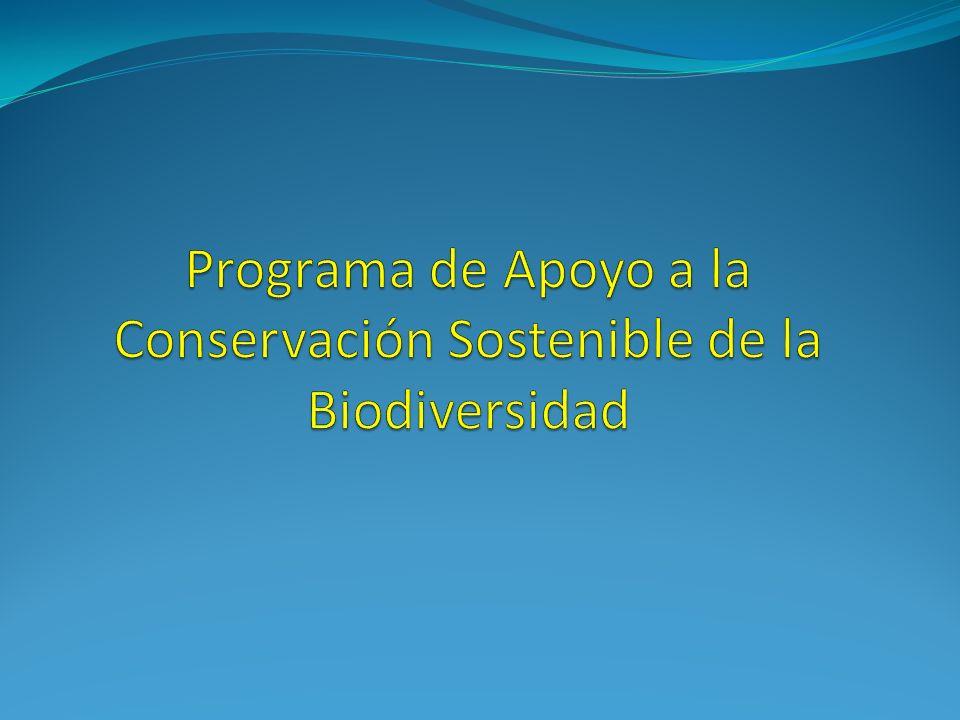 Antecedentes La Unión Europea (UE) en el marco de su política comunitaria de cooperación favorece al desarrollo económico y social sostenible, para la consecución de los Objetivos de Desarrollo del Milenio (ODMs) Bolivia tiene una gran riqueza natural y una amplia diversidad biológica; cuenta con un Sistema Nacional de Áreas Protegidas (SNAP), que articula la conservación y el desarrollo sostenible y totaliza un 22% del territorio nacional que está bajo el concepto de Área Protegida Estudio Sectorial - El Rol de las Áreas Protegidas para la Protección del Medio Ambiente y el Desarrollo Sustentable el mismo fue elaborado por la Delegación de la Unión Europea (enero de 2010), y se visualiza que la UE no ha tenido una participación directa en este proceso, pese a haber trabajado en ámbitos complementarios como cuencas y medio ambiente.