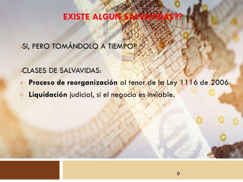 EXISTE ALGUN SALVAVIDAS : SI, PERO TOMÁNDOLO A TIEMPO!.