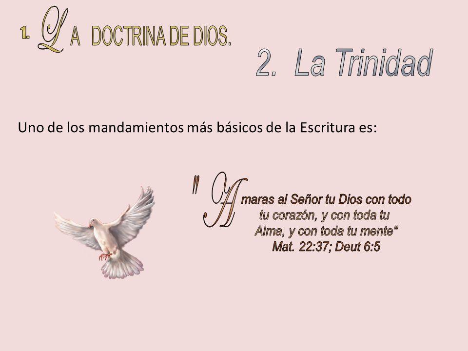 ¿Qué sucede con Cristo y con el Espíritu Santo.¿EXISTE SOLO UN DIOS.