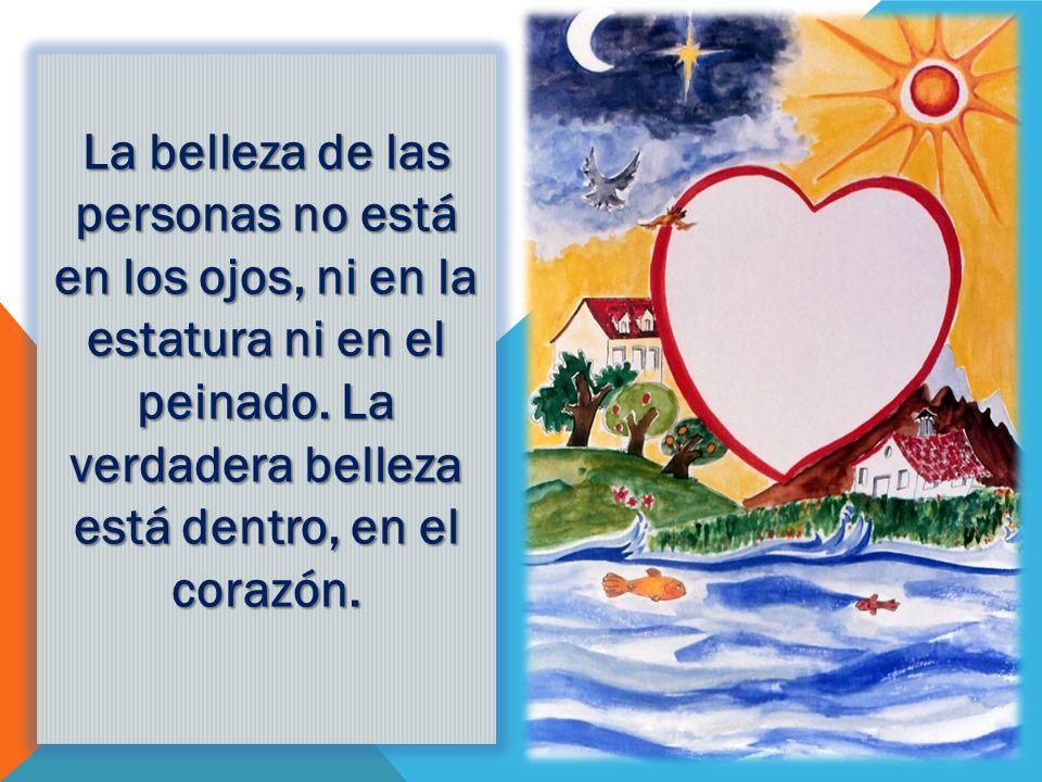 Fíjate en lo que dice Jesús: El hombre bueno, del buen tesoro de su corazón saca cosas buenas...