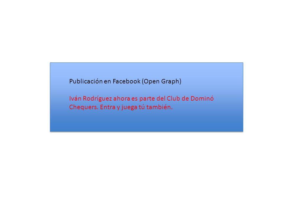 Publicación en Facebook (Open Graph) Iván Rodríguez ahora es parte del Club de Dominó Chequers.