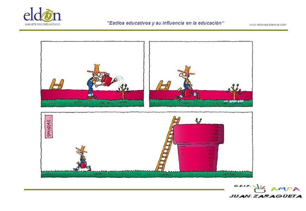 www.eldonasistencia.com Estilos educativos y su influencia en la educación GABINETE PSICOPEDAGÓGICO